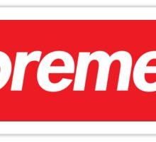 Supreme Meme = Suprememe Sticker