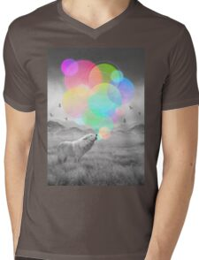 The Echoes of Silence Mens V-Neck T-Shirt