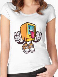 Computer Rock Women's Fitted Scoop T-Shirt