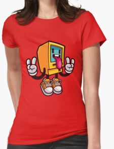 Computer Rock Womens Fitted T-Shirt