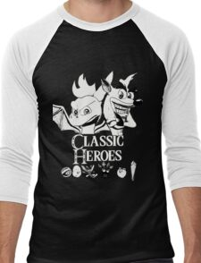 Classic Heroes Men's Baseball ¾ T-Shirt