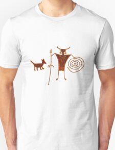 Hieroglyph Mans Best Friend T-Shirt