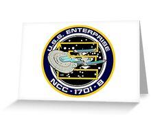 STAR TREK - U.S.S. ENTERPRISE Greeting Card