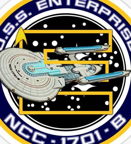 STAR TREK - U.S.S. ENTERPRISE Sticker