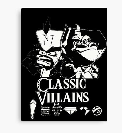 Classic Villains Canvas Print
