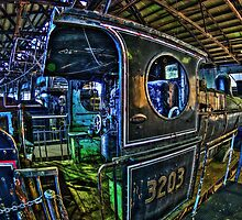 historic Steam Locomotives by VinImagery