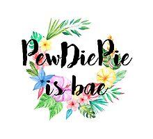 PewDiePie Is Bae Photographic Print