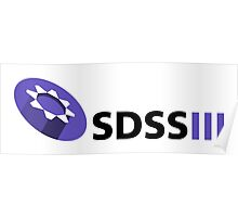 SDSS-III Collaboration Logo for Light Colors Poster