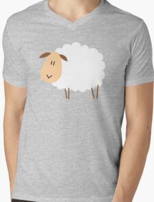 sheep Mens V-Neck T-Shirt
