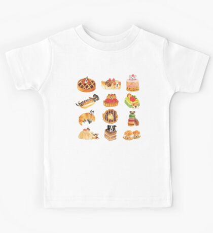 Puppy Pastries Kids Tee