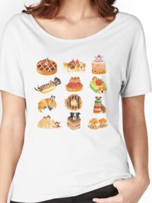 Puppy Pastries Women's Relaxed Fit T-Shirt