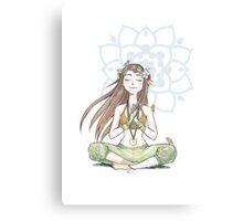 Yoga Mama Canvas Print