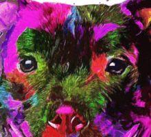 Staffordshire Bull Terrier Pop Art Portrait Sticker