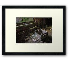Shadow Box Framed Print