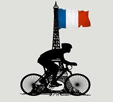 Eiffel Tower France Biking Unisex T-Shirt