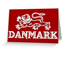 DANMARK / DENMARK - LION´S COAT OF ARMS Greeting Card