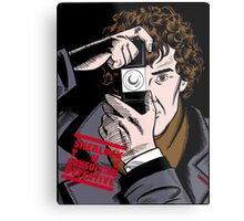 Sherlock The Consulting Detective Metal Print