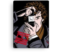 Sherlock The Consulting Detective Canvas Print