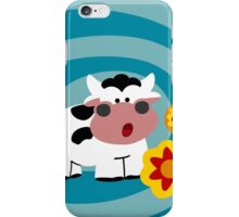Psychedelic Cow iPhone Case/Skin