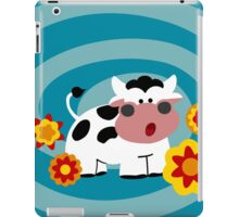Psychedelic Cow iPad Case/Skin