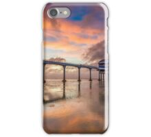 Stormy Lifeboat Station Sunset iPhone Case/Skin