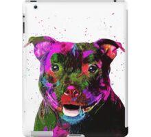 Staffordshire Bull Terrier Pop Art Portrait iPad Case/Skin