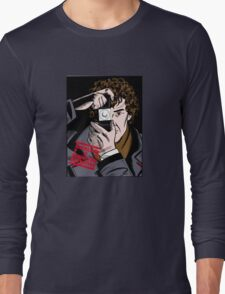 Sherlock The Consulting Detective Long Sleeve T-Shirt