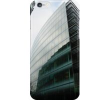 Glass building with reflections iPhone Case/Skin