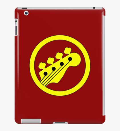 Yellow Bass iPad Case/Skin