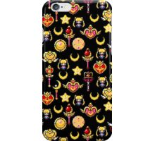 Sailor Moon - Black iPhone Case/Skin