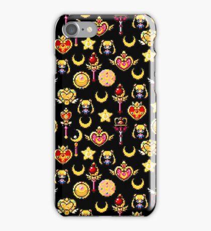 Sailor Moon - Black iPhone Case/Skin