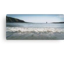 Menabilly Beach,South Cornwall Canvas Print