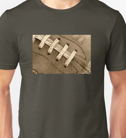 Football Laces Unisex T-Shirt