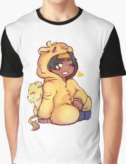 Hunk - Yellow Paladin Graphic T-Shirt