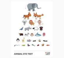 Animal Eye Test One Piece - Short Sleeve