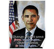 Change in Washington Poster