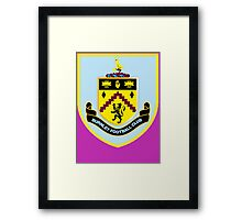 Burnley Football  Framed Print