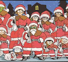 Merry Christmas from the gang by dbatista