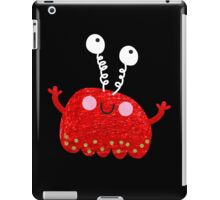 Red jelly monster chick iPad Case/Skin