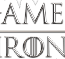 Game of Thrones Logo Sticker