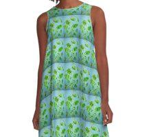 Gingko Biloba A-Line Dress