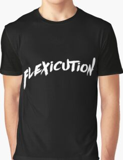 flexicution - White Graphic T-Shirt