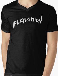 flexicution - White Mens V-Neck T-Shirt