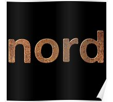 Rusty Nord Synth Poster