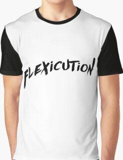 flexicution - Black Graphic T-Shirt