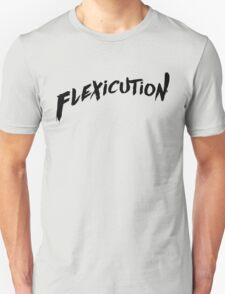 flexicution - Black Unisex T-Shirt