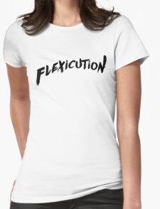 flexicution - Black Womens Fitted T-Shirt