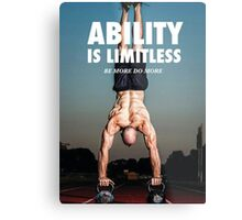 Ability Is Limitless Metal Print