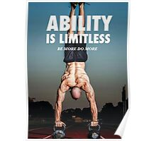 Ability Is Limitless Poster