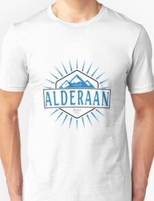 Visit Alderaan - While You Can T-Shirt